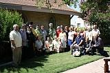 His Grace Bishop Daniel with the Parishioners